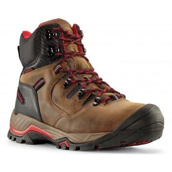 """ZION 6"""" Men's Earth Brown Waterproof Composite Toe Work Boot"""