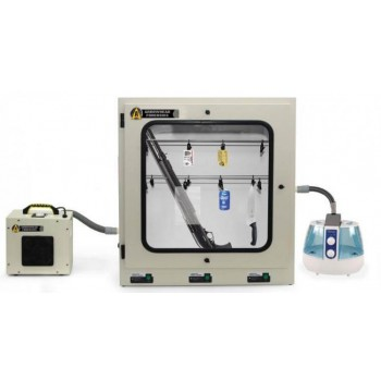 6 cu/ft Large Volume Cyanoacrylate Fuming Chamber and Extraction System