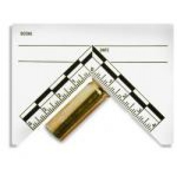 Mini ABFO #2 Adhesive Forensic Evidence Label