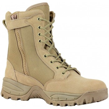 """TAC FORCE 8"""" Women's Tactical Boot with Zipper"""