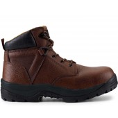 "UTILITY FIT 6"" Men's Dark Brown Waterproof Composite Toe Work Boot"