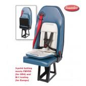 EVS 1860 Safe line Advanced Flip Bottom Seamless Child Seat