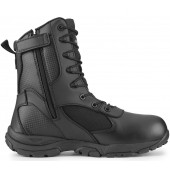 TAC ATHLON Men's Black Waterproof Tactical Boot