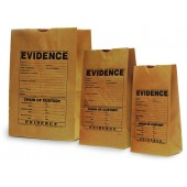 Paper Evidence Bags - Printed