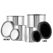 Metal Arson Evidence Cans - Unlined