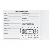 Vehicle Backing Card