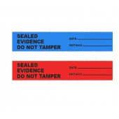 "SealGuard Labels - ""Sealed Evidence Do Not Tamper"""