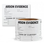 Sureseal™ Adhesive Arson Evidence Labels