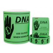 Caution DNA Labels