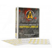 Adhesive Crime Scene Mapping Labels