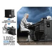 Crime Scene Cube - The Portable Field/Crime Scene Desk