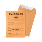Printed Evidence Envelopes