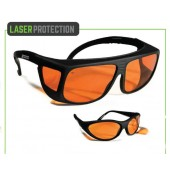 Nylon Orange Argon Goggles for Lasers