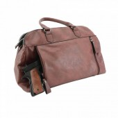 ATHENA CONCEALED CARRY PURSE: BROWN