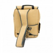 CANVAS COVERT CONCEALED CARRY SLING PACK: SAND