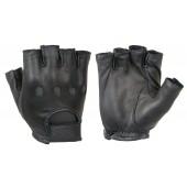 Leather Driving Gloves (1/2 Finger)