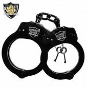 Streetwise Black Solid Steel Handcuffs