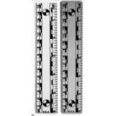 """Magnetic Ruler - 6""""/15cm"""