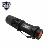 POLICE FORCE TACTICAL T6 LED FLASHLIGHT