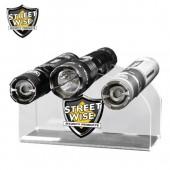 Streetwise Acrylic 3 Stun Gun Display