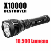 X10,000 - 10,500 LUMEN SEARCH LIGHT