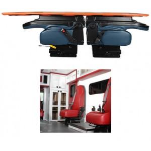 EVS 1790 Safe Line Tilt Forward Attendant Seat