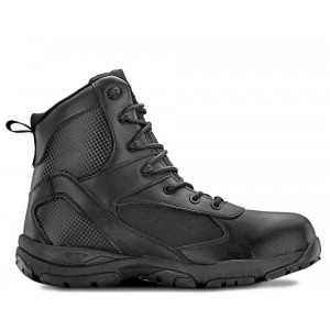 "6"" TAC ATHLON Men's Black Waterproof Tactical Boot"