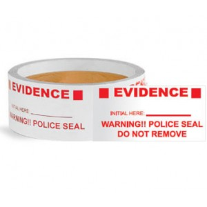 Evidence Police Seals