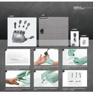 Quickprints for Collecting Known Palm & Fingerprints