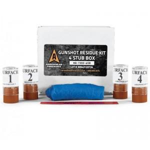 Gun Shot Residue (GSR) Kit - Surface SEM 4 Carbon Disks - Box