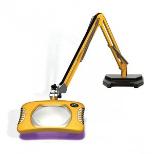 Illuminated 395NM UV And White Led Magnifier