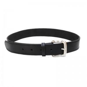 Tagua Plain Leather Belt.