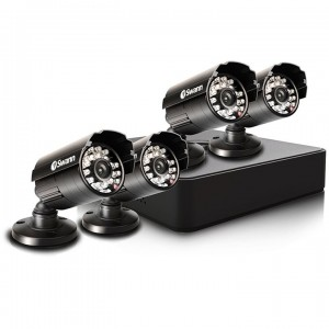 8 Channel Digital Video Recorder & 4 Cameras