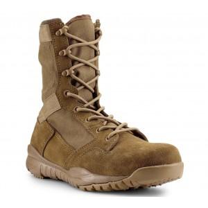 """MIL LITE 9"""" Men's Coyote Brown Mil Spec Combat Boot"""