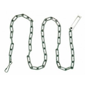 Peerless Handcuff Company Security Chain - Nickel