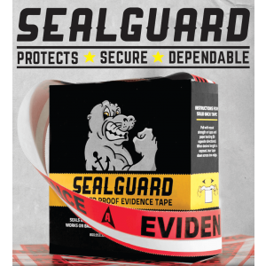 SealGuard Split Back Evidence Tape