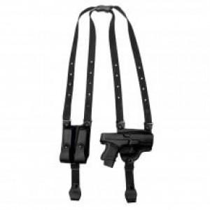 Full Slide Shoulder Holster With Dual Magazine Carrier