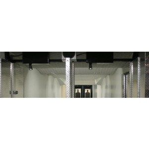 SHOOTING RANGE CEILING GUARDS