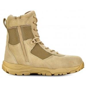"LANDSHIP 8"" Men's Tactical Boot with Zipper"