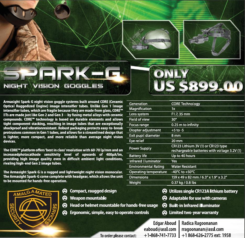 Armasight Spark-G ASSL Store Sale